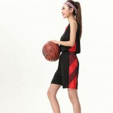 篮球服女套装 女学生篮球衣定制篮球队服训练服背心女子蓝球服