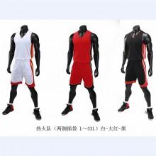 【NBA热火队球衣】热火韦德球衣3号篮球服套装男定制团购比赛队服运动背心印字订制