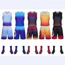 【篮球训练服定制】5801#篮球服套装男比赛定制训练服学生运动队服定做印字背心球衣篮球服