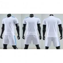 【足球训练服定制】三条杠足球训练服,足球比赛服套装,可以DIY号码队标广告词等
