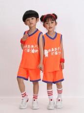 【篮球服童装】1833#童装,儿童篮球服训练服,学生篮球训营球衣定制
