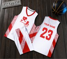 【篮球服-中国元素系列】1870#t篮球服男套装,可定制印字印球衣号码等