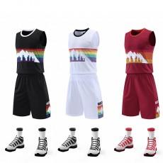 【篮球服】NBA球衣定制,掘金球队新款