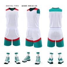 新款篮球服8348#,拼接多彩,速干透汽
