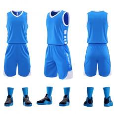 【DIY篮球服】849#新款篮球服比赛服,训练服,可印字印号码等